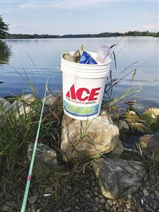 Making a difference, one bucket at a time at Indiana lakes, reservoirs and camp sites